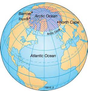 Map Of The World North Pole by North Pole On Map Galleryhip Com The Hippest Galleries