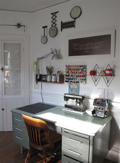 desk lighting ideas 15 beautiful eclectic home office designs feed inspiration
