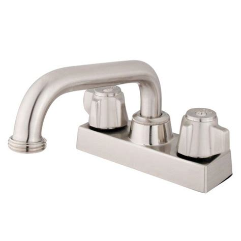 handle 4 inch centerset satin nickel bathroom