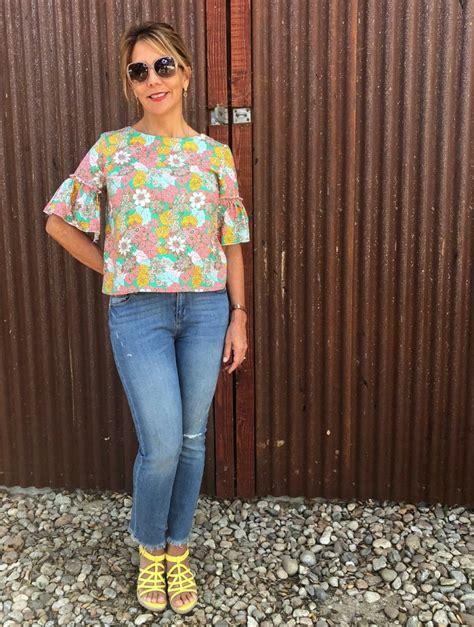 Sleeve Blouse Simplicity ruffle sleeve blouse simplicity 8602