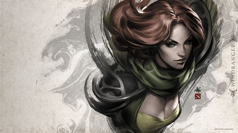 dota 2 windrunner wallpaper hd 6545 dota 2 windrunner hd photo wallpaper walops com