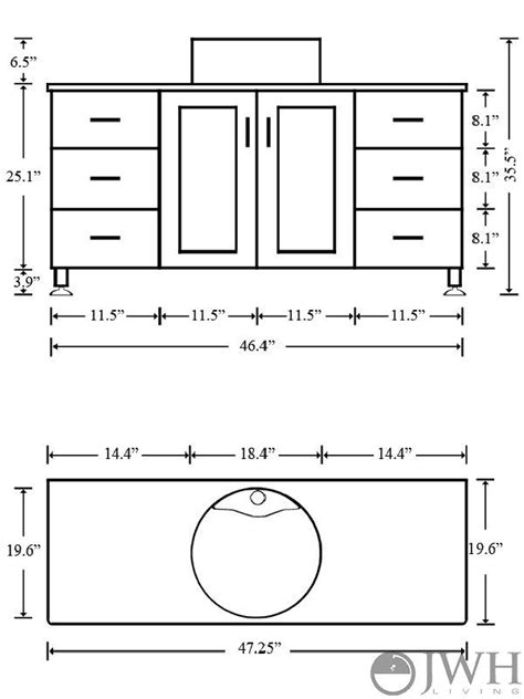 what is the standard height of a bathroom vanity - Vanity Height