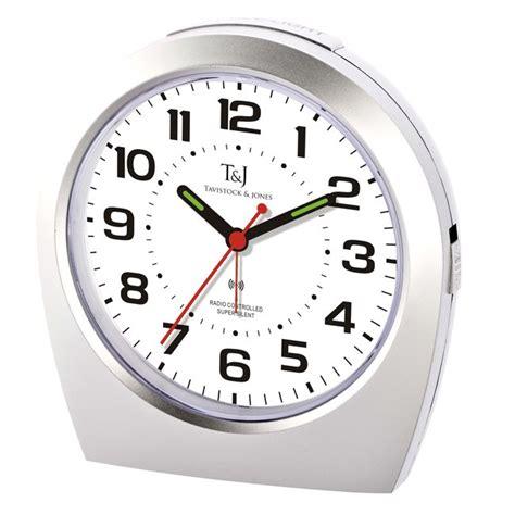 silent alarm clock radio controlled easylife