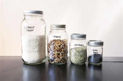 Jar Pantry by How To Really Clean Your Kitchen Pantry