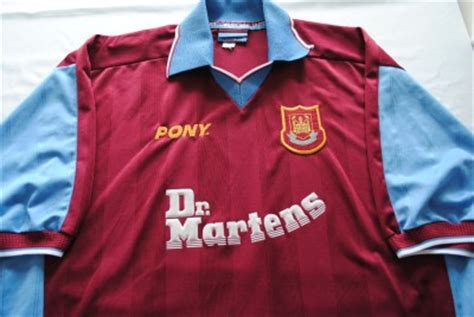 Dr Martens West Ham United Tees vintage west ham united football shirt pony dr