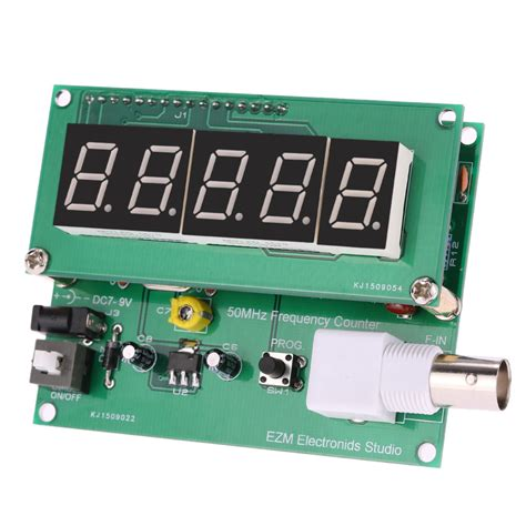 Hz Meter Frequency Meter Mf16 Selec high sensitivity frequency counter 1hz 50mhz cymometer