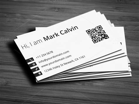 single business card template simple individual business card v2 business card