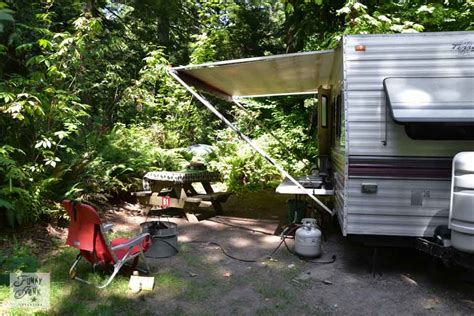 Camp Kitchen Designs by Tips For Camping In A Travel Trailerfunky Junk Interiors