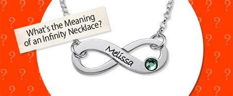 what does the infinity what is the meaning of an infinity necklace mynamenecklace