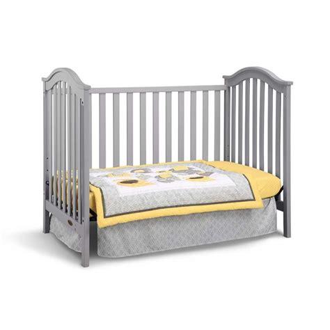 Graco Crib Conversion Rails by Graco Ashland Classic Convertible Crib In Pebble Gray