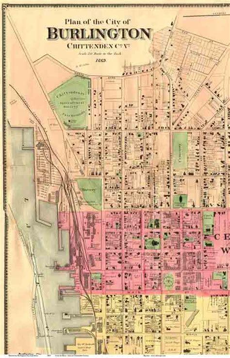 burlington map maps of burlington vt