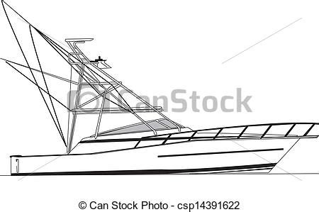 how to draw a power boat sport boat clipart clipground
