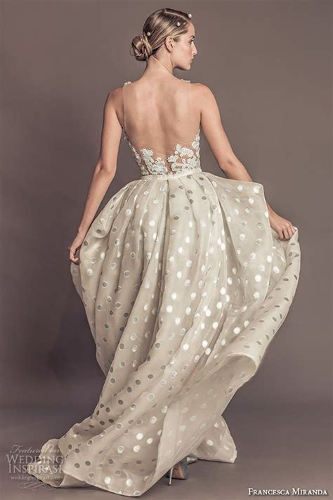 25  best ideas about Polka dot wedding dress on Pinterest