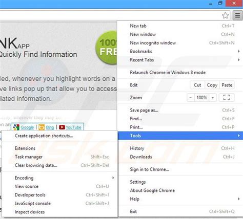 chrome quick links how to uninstall ads by quicklink virus removal instructions