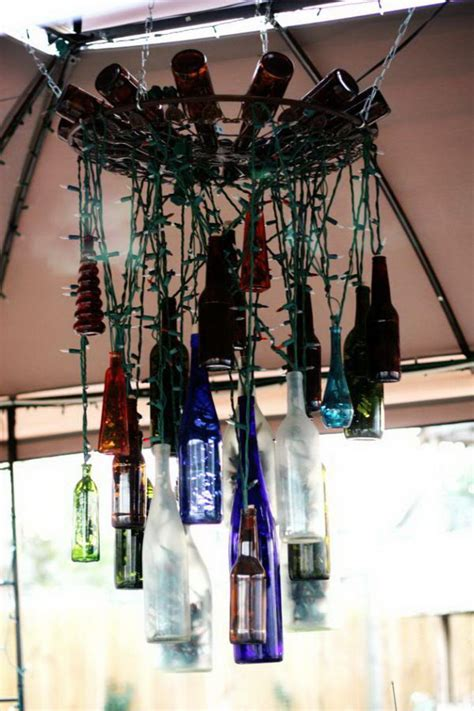 Creative Chandelier Ideas 25 Creative Wine Bottle Chandelier Ideas Hative