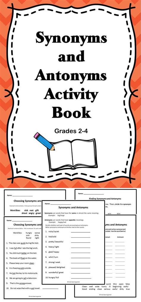 synonym words with f study page 17 best images about reading antonyms on