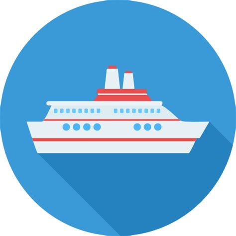ship icon cruise free transport icons