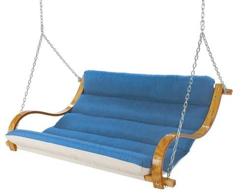 hatteras swings hatteras hammocks deluxe cushioned double swing porch