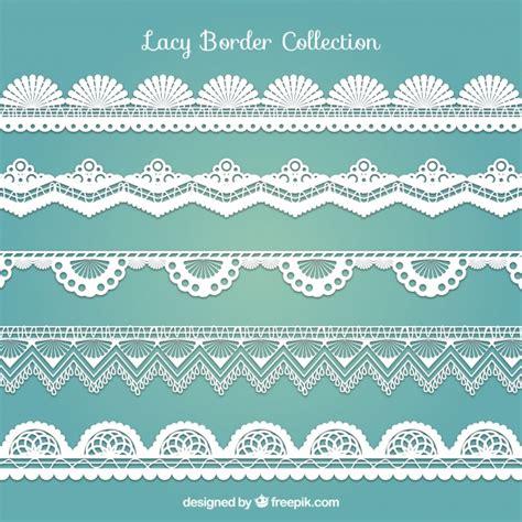 decorative border download various decorative lace borders vector free download
