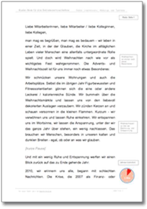 Musterbriefe Lob Mitarbeiter Rede Firmen Weihnachtsfeier 2014 Musterrede Zum