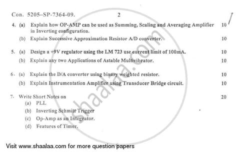 linear integrated circuits question paper 2015 linear integrated circuits nov dec 2014 question paper 28 images question paper linear