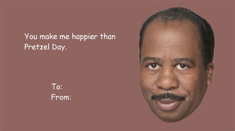 the office valentines cards the office my stuff stanley hudson dwight schrute