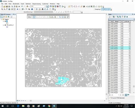 arcgis bathymetry tutorial interpreting post raster to polygon conversion data from