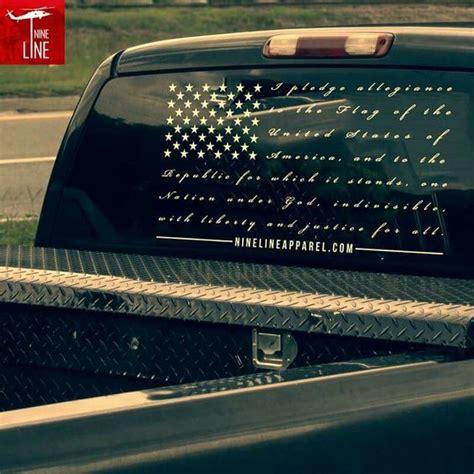 Window Decals For Trucks by Vinyl Decal The Pledge Pinterest Heart I Pledge
