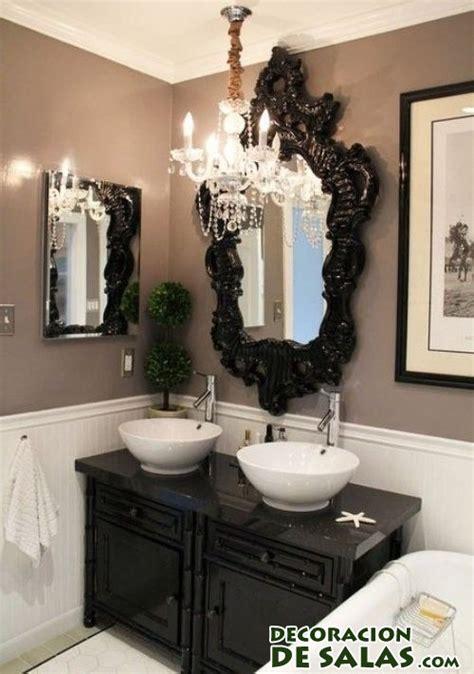 black and white bathroom accent color ideas para decorar tus ba 241 os en blanco y negro