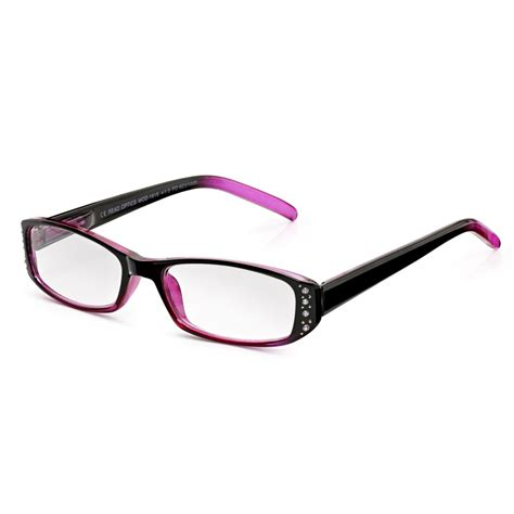 buy womens blackberry pretty chic frame oval reading