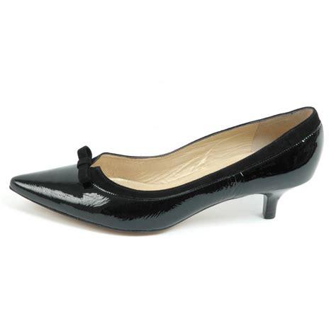 kitten heel shoes kasier dalila kitten heel pointy toe shoes in black