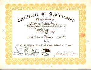 Welding Certification Letter welding certification certificate