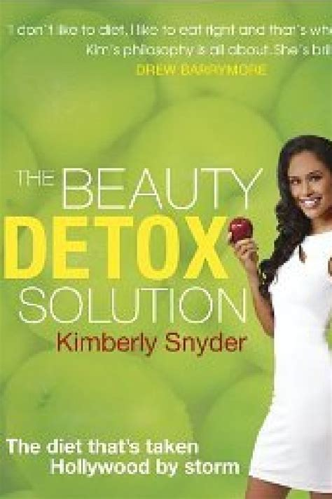 Snyders Book Detox Solution by The Detox Solution By Snyder