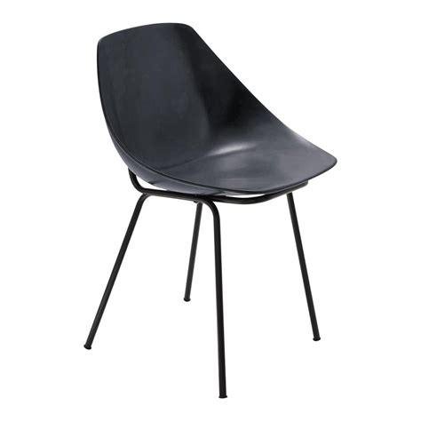 Chaise Coquillage by Chaise Gris Anthracite Guariche Coquillage Maisons Du Monde
