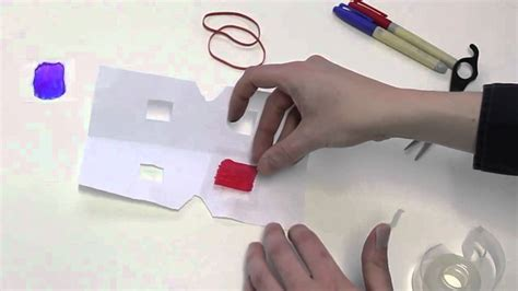 How To Make Paper 3d Glasses - how to make 3d glasses with household items