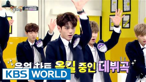 drakorindo happy together wanna one first to show wanna one s energetic on kbs happy