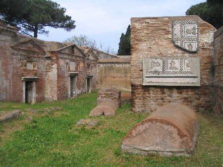necropoli di porto la necropoli di porto all isola sacra vagabonding