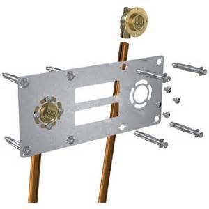 fixation de robinetterie 150mm cuivre robifix anjou