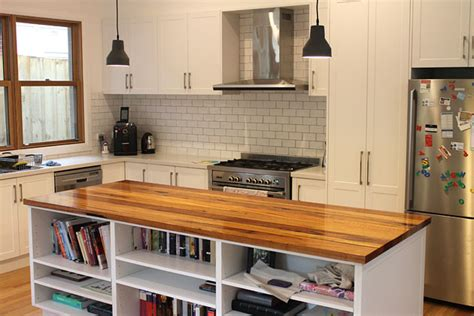 timber kitchen designs the junk map kinglake recycled timber benchtops and
