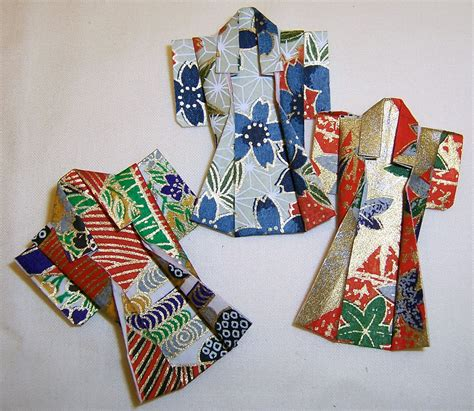 How To Make Origami Kimono - origami kimonos 171 embroidery origami