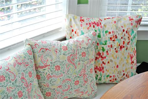 Easy Sew Pillow Covers by Easy Sew Envelope Pillow Covers Sparkles Of