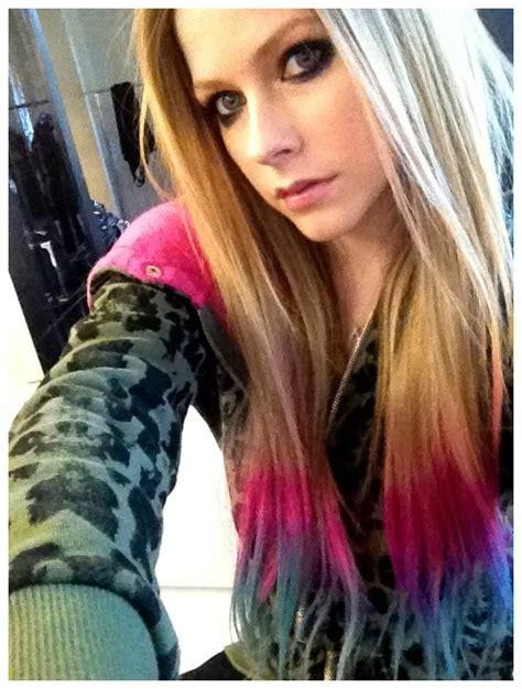 imagenes de mechas verdes te 241 ir el cabello de colores con papel crepe cabello