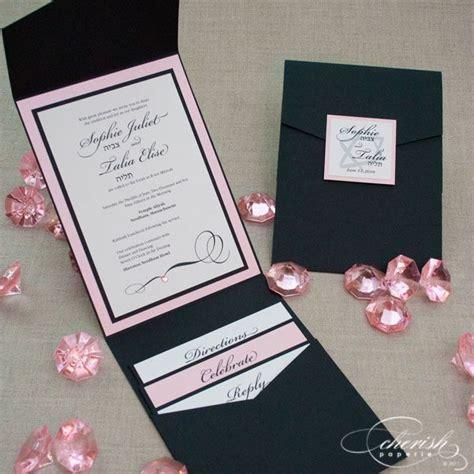Handmade Sweet 16 Invitations - 17 best ideas about bat mitzvah invitations on