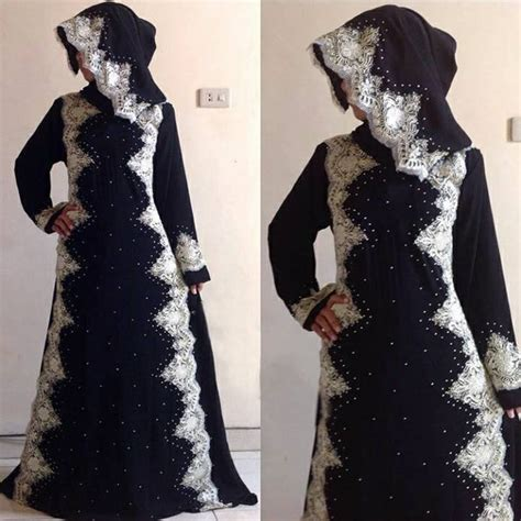 Abaya Arab Gamis Arab Gamis Hitam jual beli abaya gamis arab big size warna hitam model