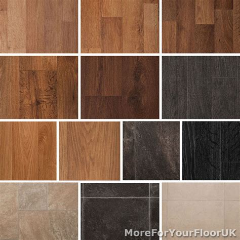 quality vinyl flooring roll cheap wood or tile effect kitchen bathroom lino 2m ebay