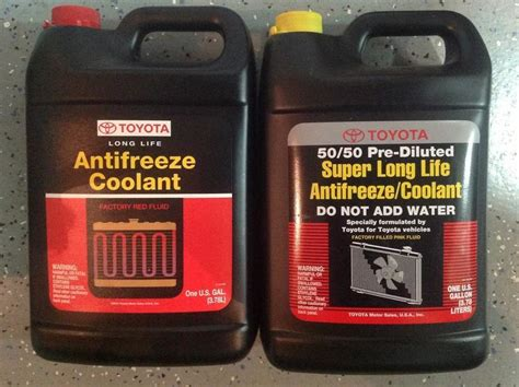 Toyota Tacoma Antifreeze Toyota Oem Or Pink Coolant F S Tacoma World