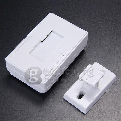 Electronic Guest Saluting Door Alarm Bel Tanpa Kabel Sensor Infra intelligent wireless infrared sensor electronic guest saluting doorbell white geekbuying