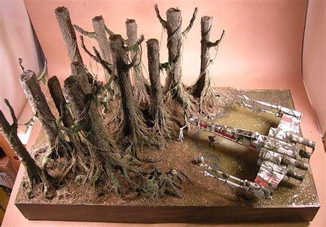 star wars printable diorama backgrounds fichtenfoo 187 blog archive 187 in progress 187 dagobah diorama