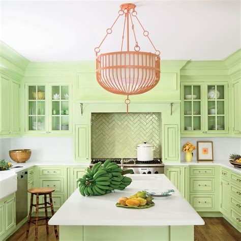 green kitchen paint ideas paint ideas for kitchen cabinets coastal living