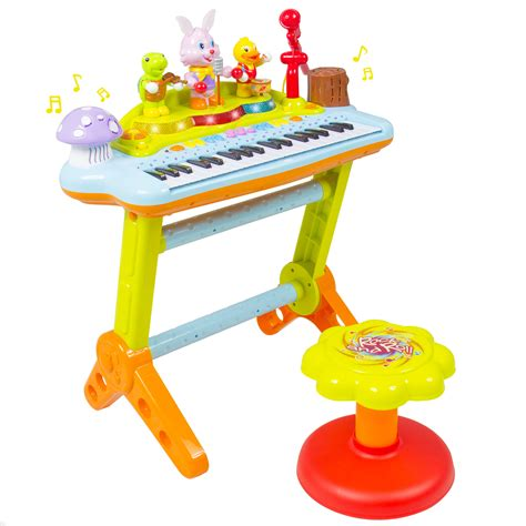 Toddler Piano With Stool by 55 Piano And Stool Musical 37 Key Piano